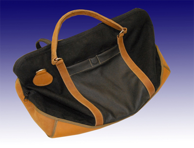 Leather Canvas Duffle