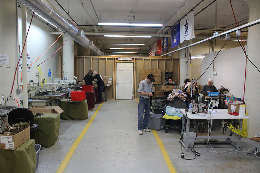 Services support enterprises inc industrial sewing for Portent mission